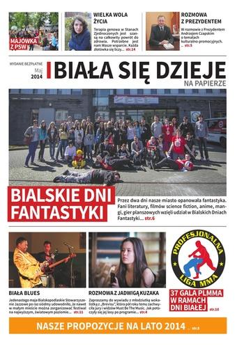 digital magazine Biała Się Dzieje publishing software