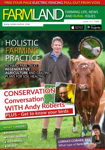 digital magazine Farmland Magazine publishing software