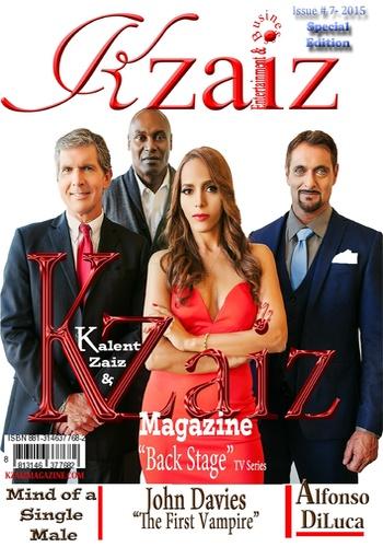 digital magazine KZAIZ ENTERTAINMENT MAGAZINE publishing software