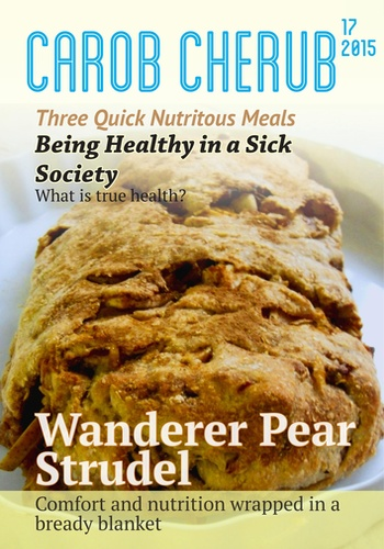 digital magazine Health: Carob Cherub Magazine publishing software