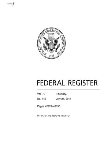 digital magazine Federal Register publishing software