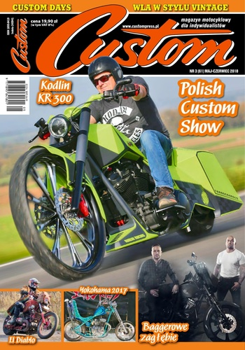 digital magazine Custom - magazyn motocyklowy publishing software