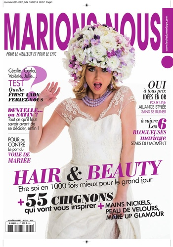 digital magazine MARIONS NOUS ! publishing software