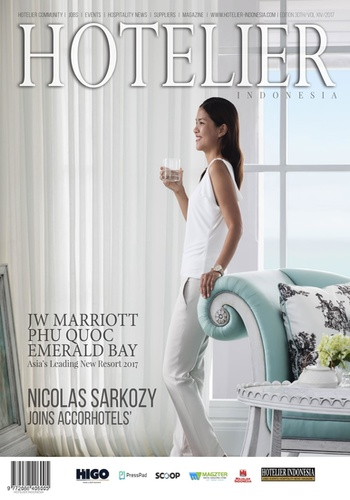 digital magazine Hotelier Indonesia publishing software