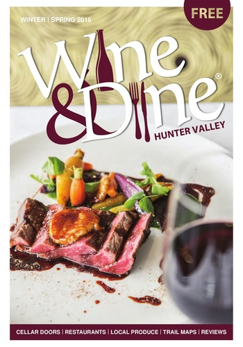 digital magazine Wine & Dine Hunter Valley publishing software