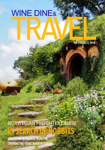 digital magazine Wine Dine & Travel Magazine publishing software
