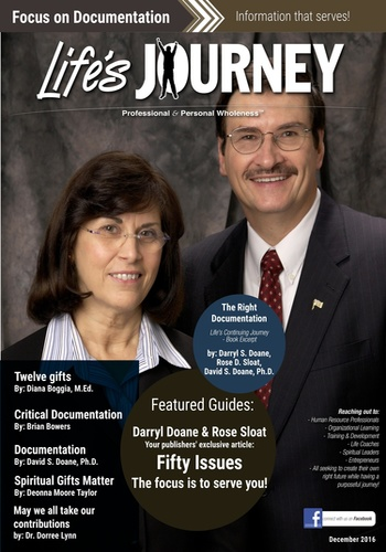 digital magazine Lifes Journey publishing software