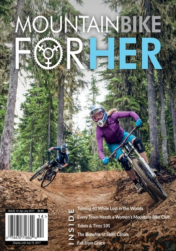 digital magazine Mountain Bike for Her publishing software