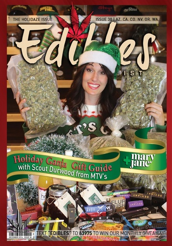 digital magazine Edibles List Magazine publishing software