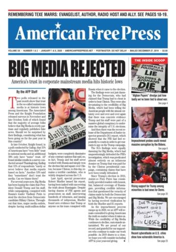 digital magazine American Free Press publishing software