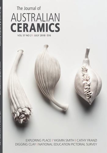 digital magazine Journal of Australian Ceramics publishing software