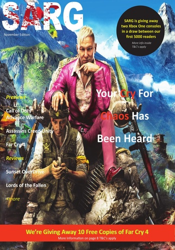 digital magazine South African Rage Gamer publishing software