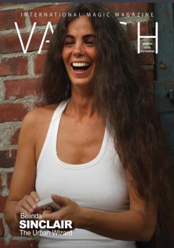 digital magazine VANISH - International Magic Magazine publishing software