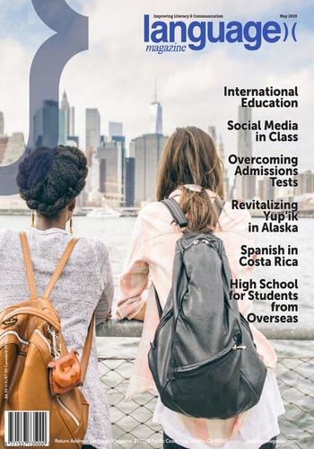 digital magazine Language Magazine publishing software