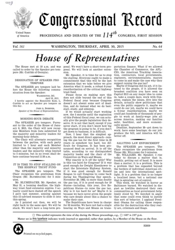 digital magazine Congressional Record publishing software