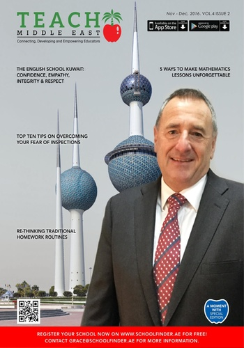digital magazine Teach Middle East Magazine publishing software