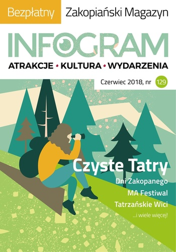 digital magazine INFOGRAM Zakopane Informator publishing software