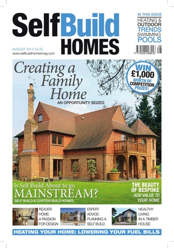 digital magazine Self Build Homes publishing software
