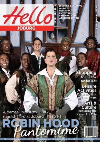 digital magazine Hello Johannesburg publishing software