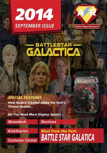digital magazine Action Figure Resource publishing software