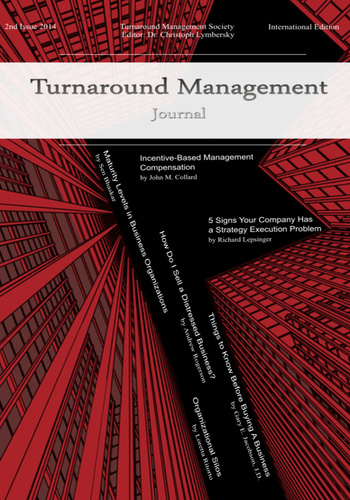 digital magazine Turnaround Management Journal publishing software