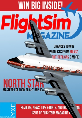 digital magazine FlightSim Magazine publishing software