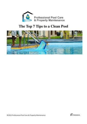 digital magazine Professional Pool Care & Property Maintenance publishing software