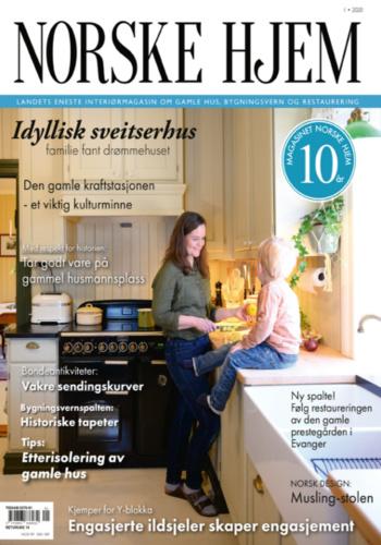 digital magazine Magasinet Norske Hjem publishing software
