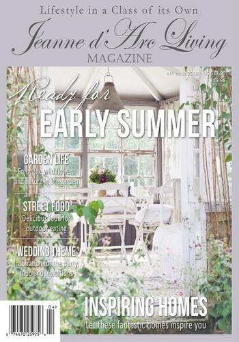 digital magazine Jeanne d'Arc Living Magazine publishing software
