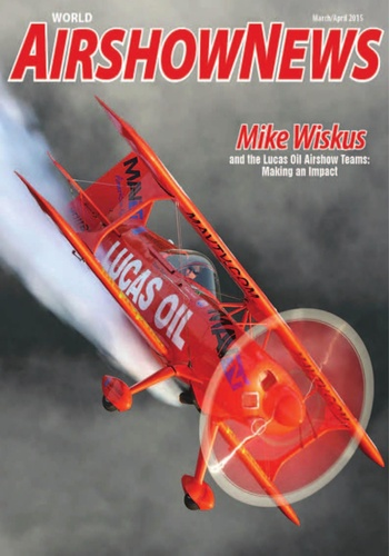 digital magazine World Airshow News publishing software