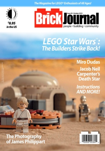digital magazine BrickJournal LEGO Fan Magazine publishing software